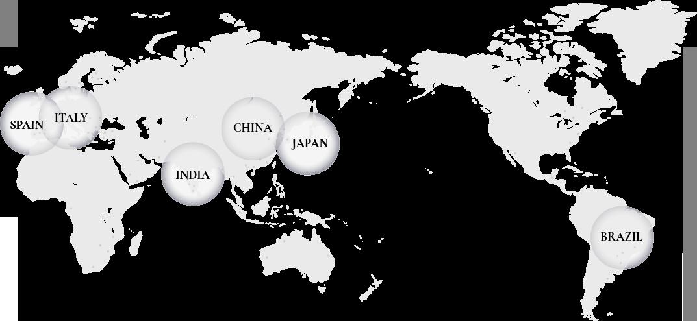グローバル・ネットワーク図